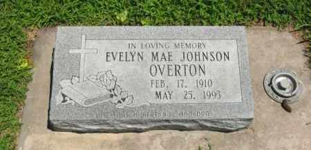 OVERTON, EVELYN MAE - Clay County, Nebraska | EVELYN MAE OVERTON - Nebraska Gravestone Photos