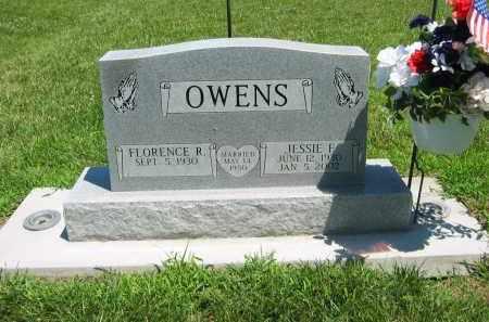 OWENS, JESSIE F - Clay County, Nebraska | JESSIE F OWENS - Nebraska Gravestone Photos