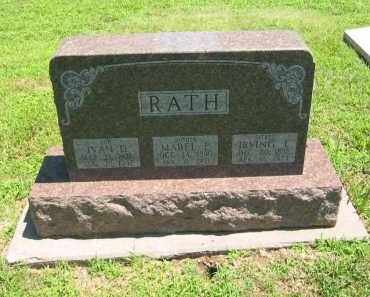 RATH, IRVING L - Clay County, Nebraska | IRVING L RATH - Nebraska Gravestone Photos