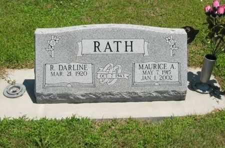 RATH, R. DARLENE - Clay County, Nebraska | R. DARLENE RATH - Nebraska Gravestone Photos