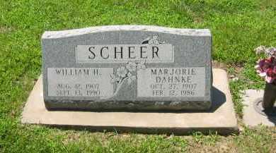 DAHNKE SCHEER, MARJORIE - Clay County, Nebraska | MARJORIE DAHNKE SCHEER - Nebraska Gravestone Photos