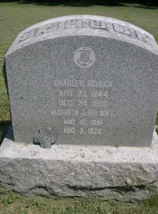 SCHUCK, AUGUSTA J. - Clay County, Nebraska   AUGUSTA J. SCHUCK - Nebraska Gravestone Photos