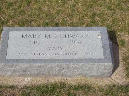 SCHWARZ, MARY - Clay County, Nebraska | MARY SCHWARZ - Nebraska Gravestone Photos