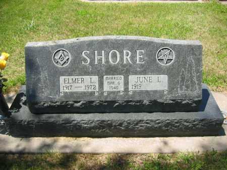 SHORE, ELMER M - Clay County, Nebraska | ELMER M SHORE - Nebraska Gravestone Photos