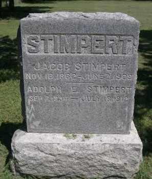 STIMPERT, ADOLPH E - Clay County, Nebraska | ADOLPH E STIMPERT - Nebraska Gravestone Photos