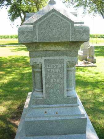 STONE, CELESTINE - Clay County, Nebraska   CELESTINE STONE - Nebraska Gravestone Photos
