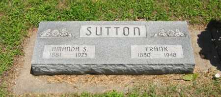 SUTTON, AMANDA S. - Clay County, Nebraska | AMANDA S. SUTTON - Nebraska Gravestone Photos