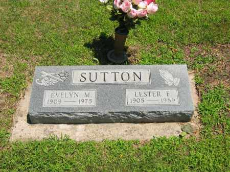 SUTTON, LESTER F. - Clay County, Nebraska | LESTER F. SUTTON - Nebraska Gravestone Photos