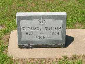 SUTTON, THOMAS J - Clay County, Nebraska | THOMAS J SUTTON - Nebraska Gravestone Photos