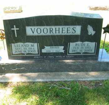 VOORHEES, RUTH E - Clay County, Nebraska | RUTH E VOORHEES - Nebraska Gravestone Photos