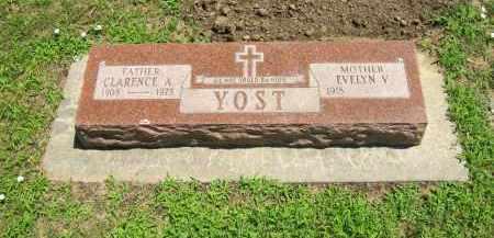 YOST, EVELYN V. - Clay County, Nebraska | EVELYN V. YOST - Nebraska Gravestone Photos