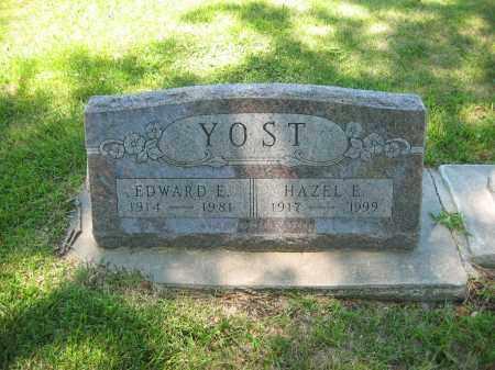YOST, HAZEL E - Clay County, Nebraska | HAZEL E YOST - Nebraska Gravestone Photos