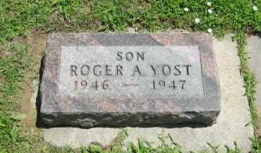 YOST, ROGER  A. - Clay County, Nebraska | ROGER  A. YOST - Nebraska Gravestone Photos