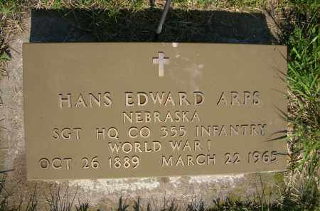 ARPS, HANS EDWARD - Colfax County, Nebraska | HANS EDWARD ARPS - Nebraska Gravestone Photos