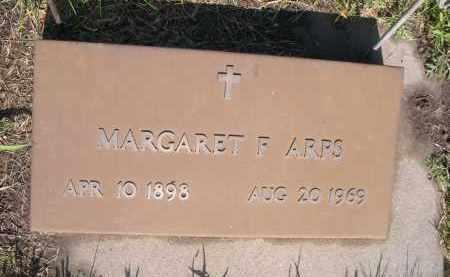 ARPS, MARGARET F. - Colfax County, Nebraska | MARGARET F. ARPS - Nebraska Gravestone Photos