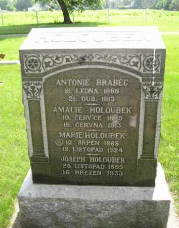 BRABEC, ANTONIE - Colfax County, Nebraska | ANTONIE BRABEC - Nebraska Gravestone Photos