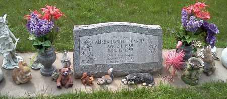 GARCIA, ALISHA - Colfax County, Nebraska   ALISHA GARCIA - Nebraska Gravestone Photos