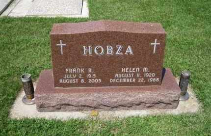 HOBZA, HELEN - Colfax County, Nebraska | HELEN HOBZA - Nebraska Gravestone Photos