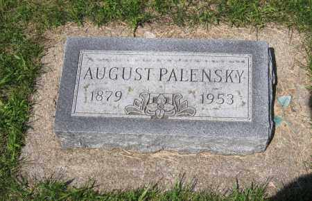 PALENSKY, AUGUST - Colfax County, Nebraska | AUGUST PALENSKY - Nebraska Gravestone Photos