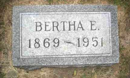 CHANNER SMITH, BERTHA ELNORE - Colfax County, Nebraska | BERTHA ELNORE CHANNER SMITH - Nebraska Gravestone Photos