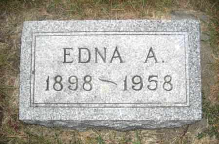 SMITH, EDNA A. - Colfax County, Nebraska | EDNA A. SMITH - Nebraska Gravestone Photos