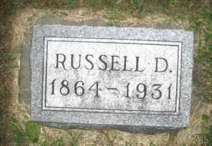 SMITH, RUSSELL D. - Colfax County, Nebraska | RUSSELL D. SMITH - Nebraska Gravestone Photos