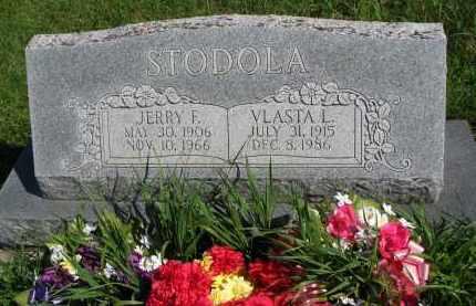 STODOLA, JERRY F. - Colfax County, Nebraska | JERRY F. STODOLA - Nebraska Gravestone Photos