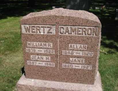CAMERON, JANE - Colfax County, Nebraska | JANE CAMERON - Nebraska Gravestone Photos