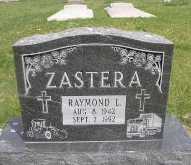 ZASTERA, RAYMOND L. - Colfax County, Nebraska   RAYMOND L. ZASTERA - Nebraska Gravestone Photos