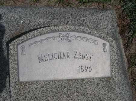 ZRUST, MELICHAR - Colfax County, Nebraska   MELICHAR ZRUST - Nebraska Gravestone Photos
