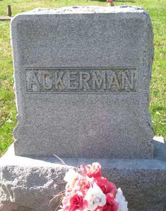 ACKERMAN, (FAMILY MONUMENT) - Cuming County, Nebraska | (FAMILY MONUMENT) ACKERMAN - Nebraska Gravestone Photos