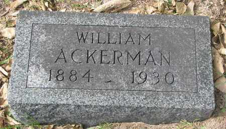 ACKERMAN, WILLIAM #1 - Cuming County, Nebraska | WILLIAM #1 ACKERMAN - Nebraska Gravestone Photos