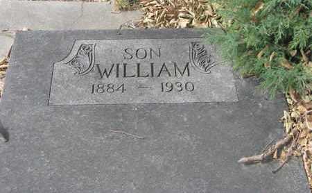 ACKERMAN, WILLIAM #2 - Cuming County, Nebraska   WILLIAM #2 ACKERMAN - Nebraska Gravestone Photos