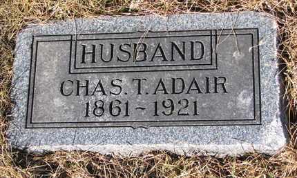 ADAIR, CHARLES T. - Cuming County, Nebraska | CHARLES T. ADAIR - Nebraska Gravestone Photos