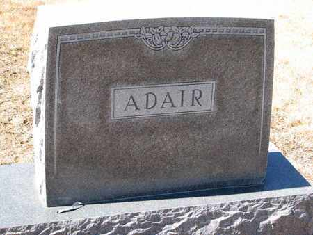 ADAIR, (FAMILY MONUMENT) - Cuming County, Nebraska | (FAMILY MONUMENT) ADAIR - Nebraska Gravestone Photos