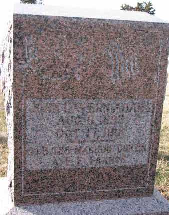 ADAMS, JOHN LAVERN - Cuming County, Nebraska | JOHN LAVERN ADAMS - Nebraska Gravestone Photos