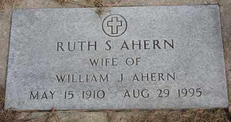 AHERN, RUTH S. - Cuming County, Nebraska | RUTH S. AHERN - Nebraska Gravestone Photos