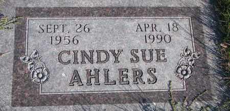 AHLERS, CINDY SUE - Cuming County, Nebraska   CINDY SUE AHLERS - Nebraska Gravestone Photos