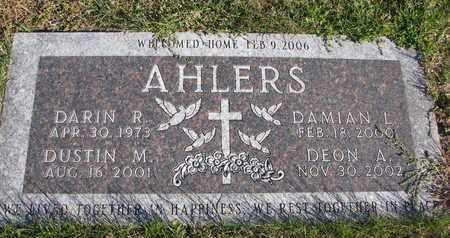 AHLERS, DUSTIN M. - Cuming County, Nebraska | DUSTIN M. AHLERS - Nebraska Gravestone Photos