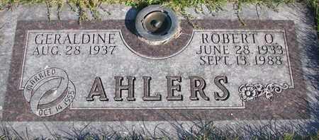 AHLERS, ROBERT O. - Cuming County, Nebraska | ROBERT O. AHLERS - Nebraska Gravestone Photos