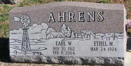 AHRENS, ETHEL M. - Cuming County, Nebraska   ETHEL M. AHRENS - Nebraska Gravestone Photos