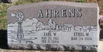 AHRENS, ETHEL M. - Cuming County, Nebraska | ETHEL M. AHRENS - Nebraska Gravestone Photos