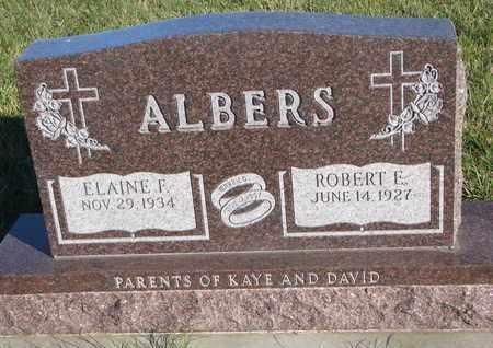 ALBERS, ELAINE F. - Cuming County, Nebraska | ELAINE F. ALBERS - Nebraska Gravestone Photos