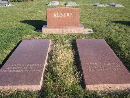 ALBERS, FAMILY PLOT - Cuming County, Nebraska   FAMILY PLOT ALBERS - Nebraska Gravestone Photos