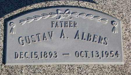 ALBERS, GUSTAV A. - Cuming County, Nebraska | GUSTAV A. ALBERS - Nebraska Gravestone Photos