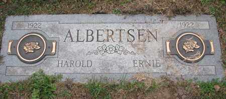 ALBERTSEN, ERNIE - Cuming County, Nebraska | ERNIE ALBERTSEN - Nebraska Gravestone Photos