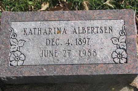 ALBERTSEN, KATHARINA - Cuming County, Nebraska   KATHARINA ALBERTSEN - Nebraska Gravestone Photos