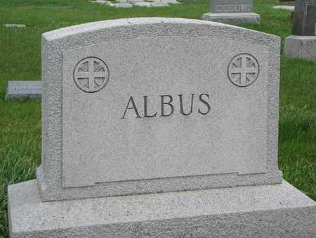 ALBUS, (FAMILY MONUMENT) - Cuming County, Nebraska | (FAMILY MONUMENT) ALBUS - Nebraska Gravestone Photos