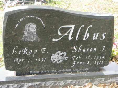 ALBUS, LEROY E. - Cuming County, Nebraska | LEROY E. ALBUS - Nebraska Gravestone Photos