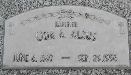 ALBUS, ODA A. - Cuming County, Nebraska   ODA A. ALBUS - Nebraska Gravestone Photos
